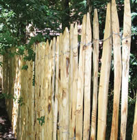 English Chestnut Fence Roll