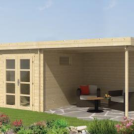 Erickson Modern Log Cabin 5.25 x 3.25m