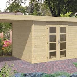 Extra Modern Log Cabin 3.2x2.6m
