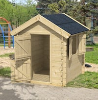 Gandalf Log Cabin Playhouse 1.35 x 1.10m