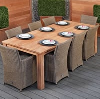 Garden Table and Chair Set - Create Your Own