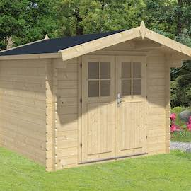 Gitte Log Cabin 2.6x2.6m