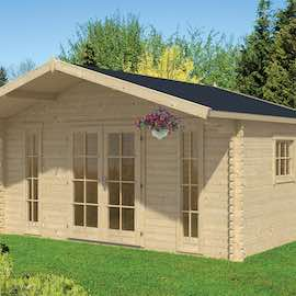 Gustav Log Cabin 5.0x3.8m
