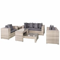 Hamilton Wicker Lounge Set