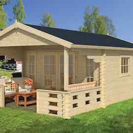 Hedvig Log Cabin 3.8x5.8m