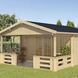 Heino Log Cabin 4.5x5.8m