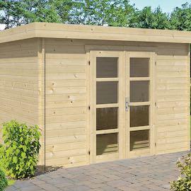 Hyper Modern Log Cabin 3.2x2.6m