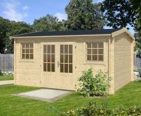 Jenny Log Cabin 4.5 x 3.5m