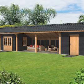 Larch Asymmetrical  Apex Garden Building Type Twelve