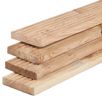 Larch Decking Board 28mm