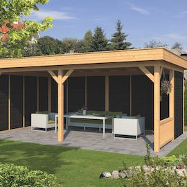 Larch Pent Garden Building Type Three