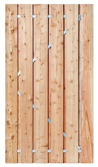 Privacy Larch Garden Gate RUMMAGE