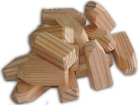 Larch Construction Timber Peg