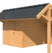 Larch Apex Garden Building Type Four