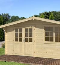 Leipzig Seven Log Cabin 5x5m