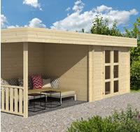 Maja Modern Log Cabin 6.4 x 2.4m