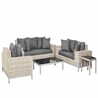 Nashville Wicker Lounge Set