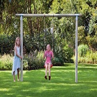 Captivating Paula Garden Swing Set