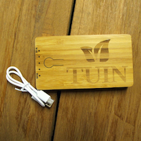 Tuin Wooden Power Bank