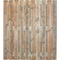 Prive Garden Fence Panel