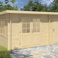 Rhon Log Cabin 4.5mx3m in 34mm Logs