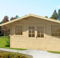 Rome Log Cabin 5x3.2m