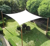 Garden Sail Shelter - Square