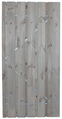 Privacy Silver Grey Gate