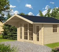 Soren Log Cabin 3.8x3.8m