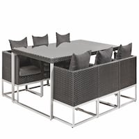 Springfield Deluxe Wicker Dining Set