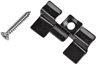 Stainless Steel Decking Clip Black