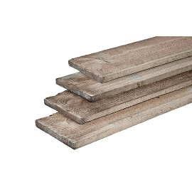 Timber Plank Silver Grey 1.7 x 14.5cm