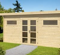 Zutphen Modern Log Cabin 4.98x2.98m