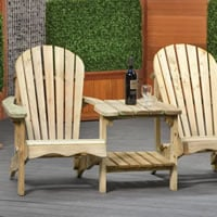 Adirondack Love seat Paris