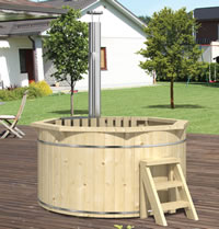 Barrel Hot Tub