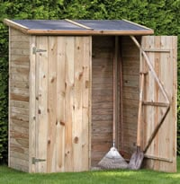 Bayern Double Door Storage Shed