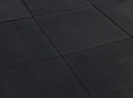 Outdoor Rubber Play Tile - Black