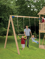 Blue Rabbit Swing Basic Play Centre Module