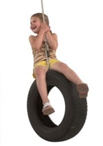 Play Car Tyre Swing