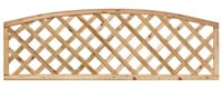 Arched Framed Diagonal Trellis 60H