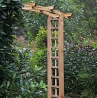 Curved Garden Arch 120cm
