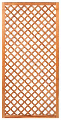 Diagonal Hardwood Trellis 90cm