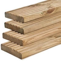 Decking Board Pressure Treated