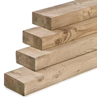 Eased Corner Timber 95mm
