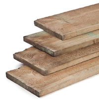 Impregnated Timber Plank