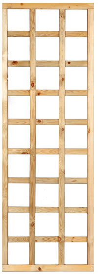 Framed Straight Trellis 60