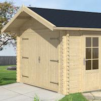 Log Garage Geir 3.6 x 5.37m