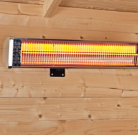 Garden Building Wall Heater