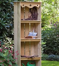 Garden Storage Shelves