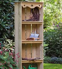 Exceptionnel Garden Storage Shelves